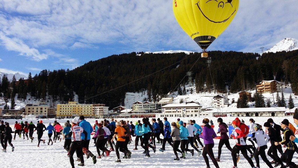 Snow Run Arosa 2014