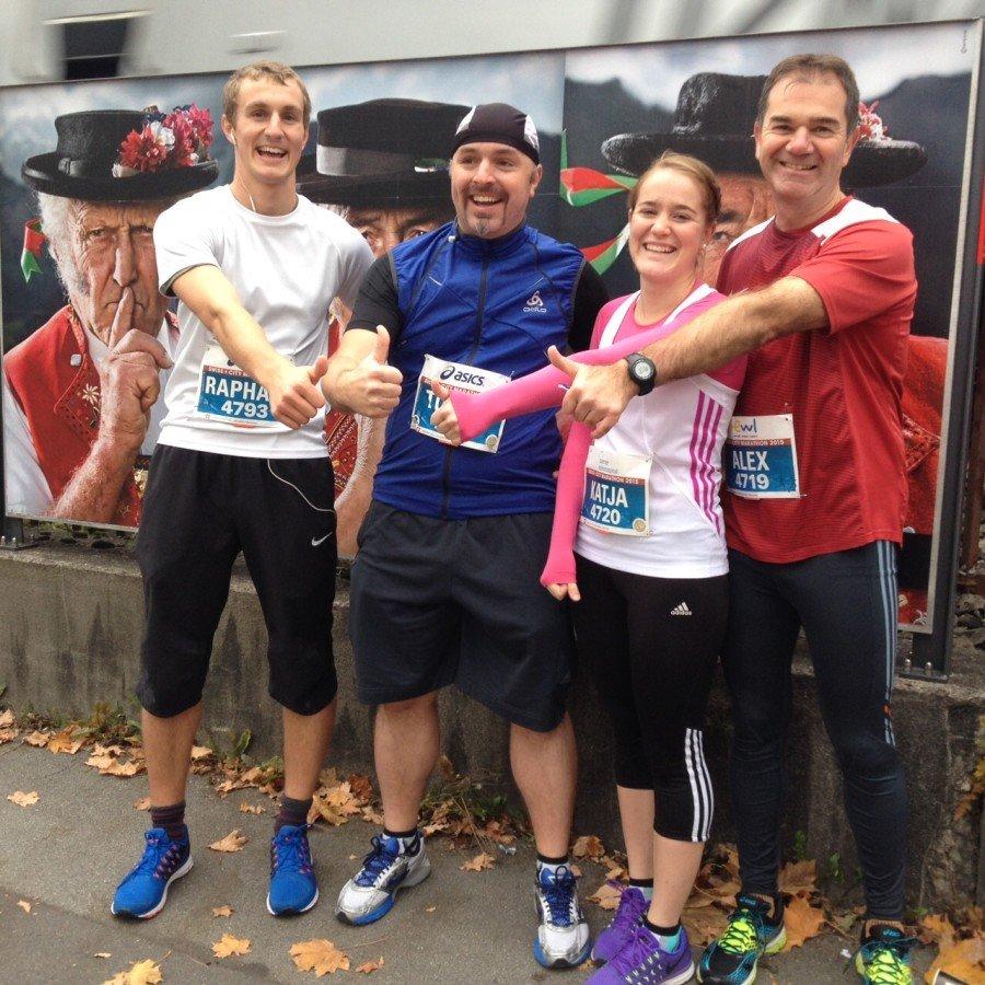 Halbmarathon und 5-Miles Luzern 2015