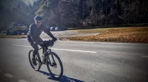 Rolf kurz vor der Steig