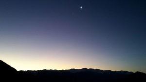 Kurz vor Sonnenaufgang - Bild Hermi