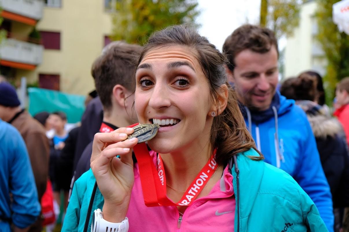 Sändys erster Marathon