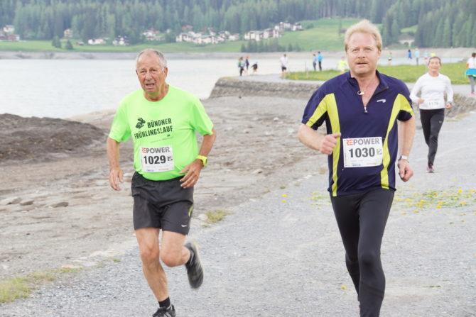 Davoser Seelauf – Joos und Erich räumen ab