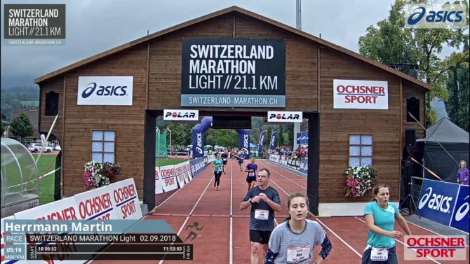 Still und leise ! – Hermi beim Switzerland Marathon light 2018